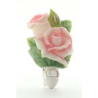 Rose Bud Night Light, Ibis & Orchid Nightlights, NIB, 50182