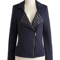 Keep 'Em on Their Motos Jacket | Mod Retro Vintage Jackets | ModCloth.com