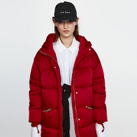 HOODED PUFFER COAT DETAILS