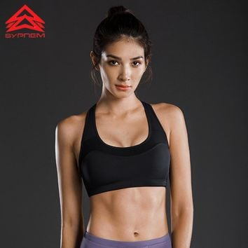 Syprem Winter High-intensity Support Sports Bra For Women Push Up Gym Vest Shockproof Girl Running Yoga Fitness Underwear,TW7521