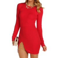 Sale-red She Devil Dress