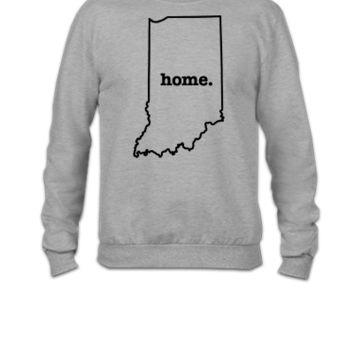 Indiana Home BLACK - Crewneck Sweatshirt