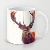 Red Deer // Stag Mug by Amy Hamilton