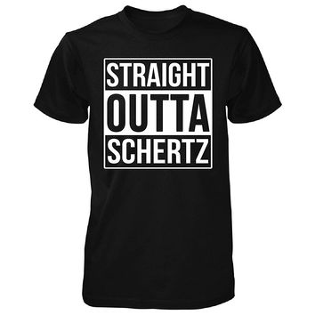Straight Outta Schertz City. Cool Gift - Unisex Tshirt