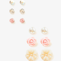 Pearlescent Stud Set