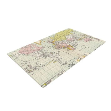 """Catherine Holcombe """"Travel"""" Woven Area Rug, 4' x 6'  - Outlet Item"""