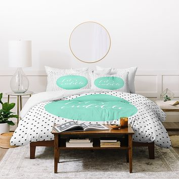 Allyson Johnson Lets Cuddle Duvet Cover