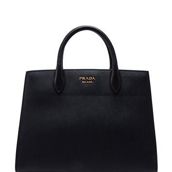 Prada Women's Medium 'Bibliotheque' Bag Black