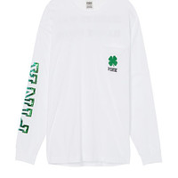 St.Paddy's Day Long Sleeve Campus Tee - Victoria's Secret