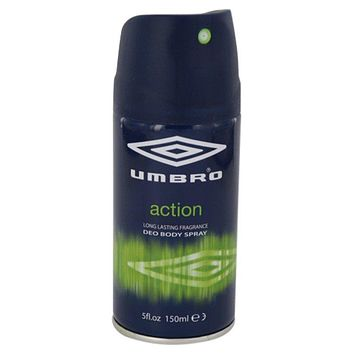 Umbro Action by Umbro Deo Body Spray 5 oz for Men
