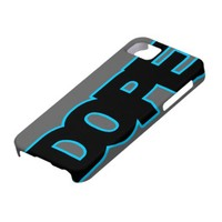 Neon Blue DOPE iPhone 5 Cases from Zazzle.com