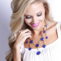Dangled Necklace: Multiple Colors