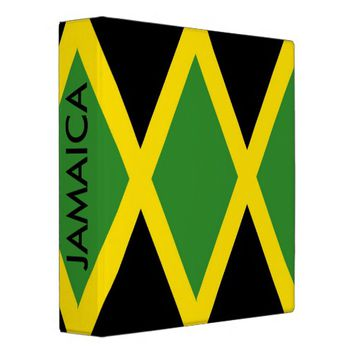 Binder with Flag of Jamaica