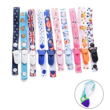 Pacifier Clips (27 Options)