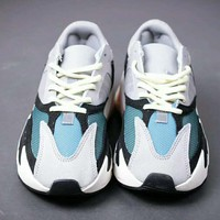 Adidas Yeezy 700 Boost Sneakers Running Sports Shoes White blue I-HAOXIE-ADXJ