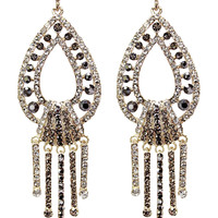 Luster Drop Earrings in Multi Color – bandbcouture.com