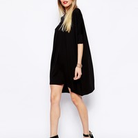 ASOS PETITE The T-Shirt Dress with Short Sleeves