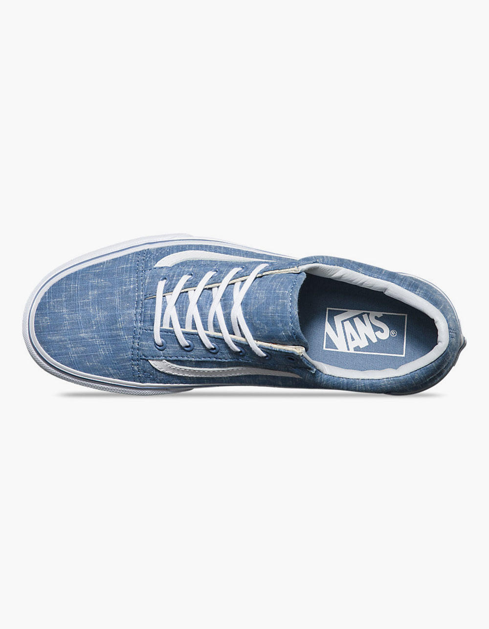 3536bfdbbc VANS Denim Chevron Old Skool Womens Shoes from Tilly s
