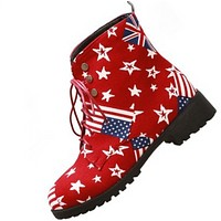 The new retro little star with high - grade non - slip Martin boots shoes