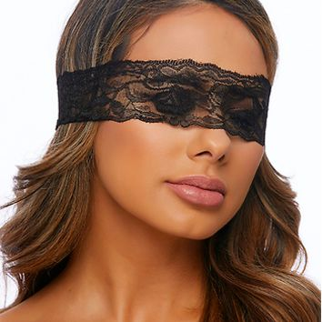 Black Lace Blindfold