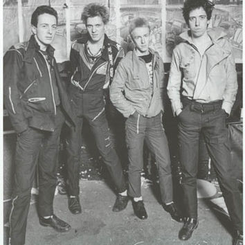 The Clash London 1977 Poster 24x33