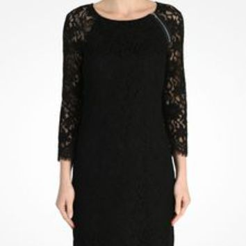 Armani Exchange LACE SHEATH, Mini Dress for Women - A|X Online Store