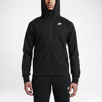 The Nike AW77 Fleece Full-Zip Men's Hoodie.