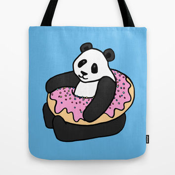 A Very Good Day Tote Bag by Micklyn | Society6