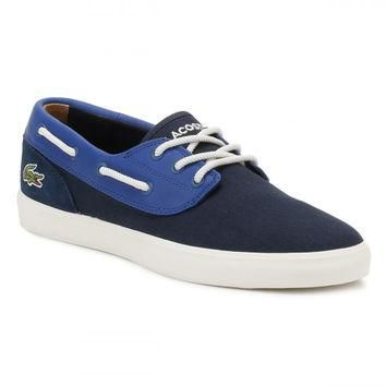 Lacoste Mens Navy Jouer Deck 117 1 CAM Shoes