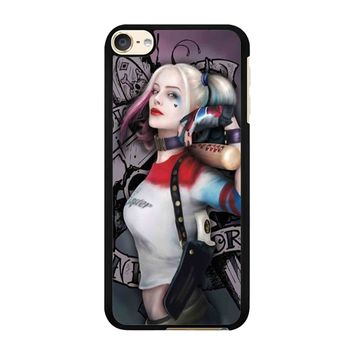 Squad Harley Quinn  iPod Touch 6 Case