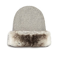 Max Mara - Uruguay Cashmere & Rabbit Fur Hat - Saks Fifth Avenue Mobile