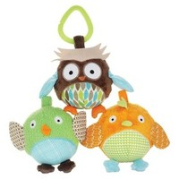 Skip Hop Treetop Friends Ball Trio - Owl and Friends