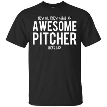 Pitcher Shirt, Pitcher Gifts, Pitcher, Awesome Pitcher, Gifts For Pitcher, Pitcher Tshirt, Funny Gift For Pitcher, Pitcher Gift