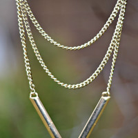 To the Point Necklace - Gold