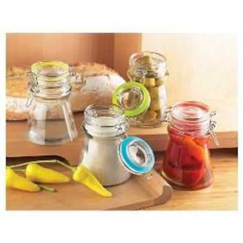 Global Amici Rainbow Flip Jars - Set of 4 : Target