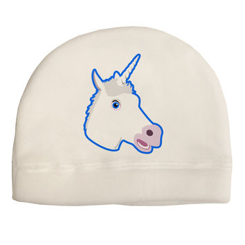 Fanciful Unicorn Adult Fleece Beanie Cap Hat