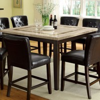 Ollie Contemporary Counter Height Table