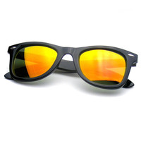 Trendy Hipster Colorful Revo Flash Mirror Lens Wayfarer Sunglasses