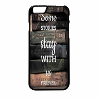 Harry Potter Old Books iPhone 6 Plus Case