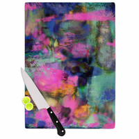 "Nina May ""Palisades"" Multicolor Cutting Board"