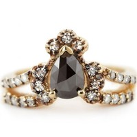 Immortalia by ManiaMania Gold & Black Ritual Solitaire