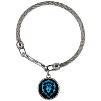 """World of Warcraft """"For the Alliance"""" Wickford Bracelet"""