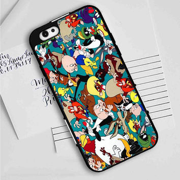 BUGS BUNNY LOONEY TUNES ALL CHARACTERS iPhone 7 | 7 Plus Case Planetscase.com