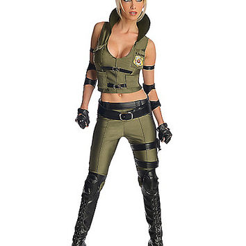 Mortal Kombat Sonya Blade Adult Womens from Spirit Halloween