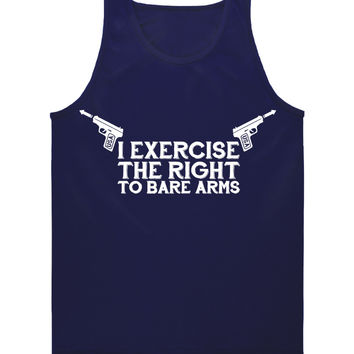 'Right to Bare Arms' Tank Top (XL Only)