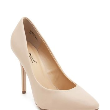 Sagitaria 01 Almond Toe Pump