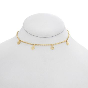 Four Suits Choker