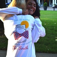 Southern Accents Long Sleeve Pocket Tee