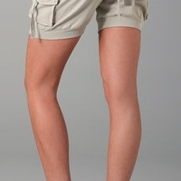 Bird by Juicy Couture Desert Canvas Shorts