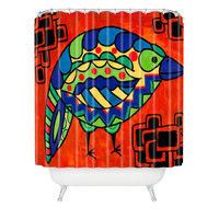 Lara Kulpa Bird Shower Curtain